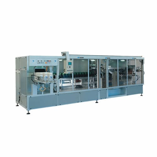 automatic packaging machine / bell type / for powders / for bulk materials