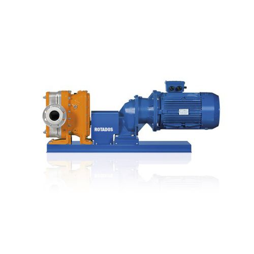 wastewater pump / electric / normal priming / rotary piston