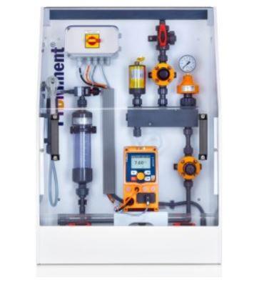 dosing unit with peristaltic pump / liquid