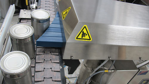 pusher sorter / automatic / for cans / for packaging lines