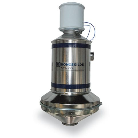 air separator / condensate / for solids / for the food industry