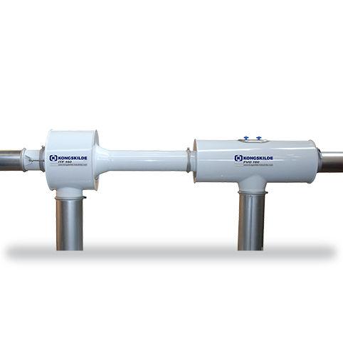 oil-free Venturi ejector / single-stage / for pneumatic conveying