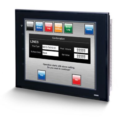 HMI with touch screen / panel-mount / 800 x 600 / 1024 x 768
