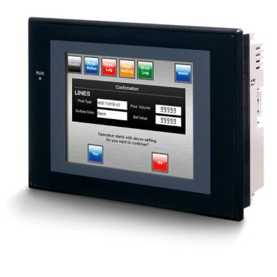 HMI with touch screen / panel-mount / 320 x 240 / TFT LCD