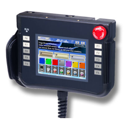 HMI with touch screen / mobile / handheld / 320 x 240