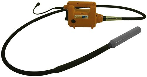 vibrator with electric actuator / for concrete / impact / high-frequency