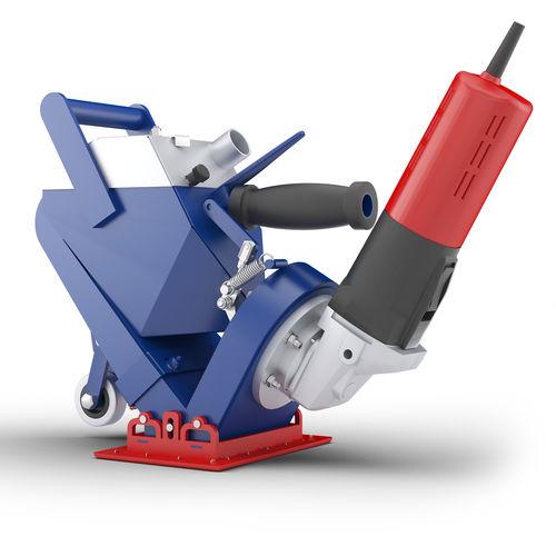 manual shot blasting machine / for metal / for concrete / ground