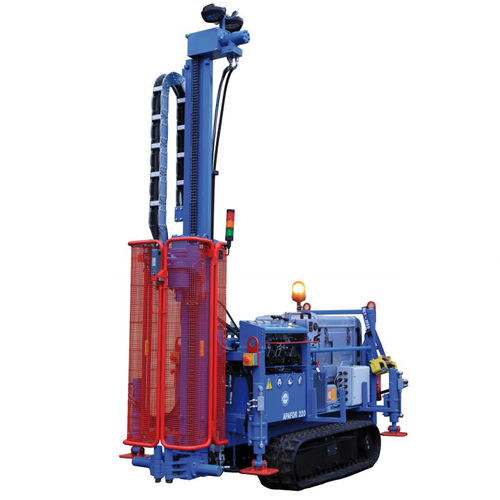 core drilling drilling rig / soil investigation / geotechnical / crawler
