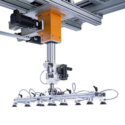pick-and-place robot / gantry / 4-axis / 3-axis