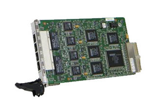 4 ports Ethernet switch card