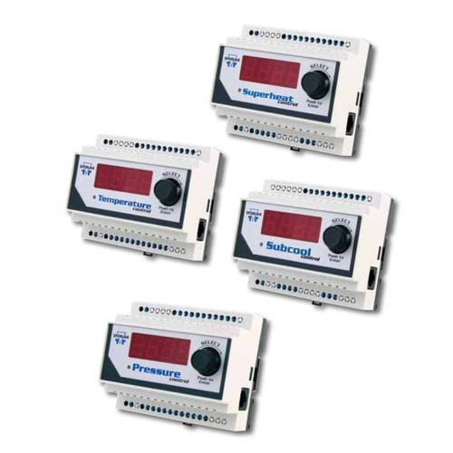 refrigeration temperature controller / with LED display / PID