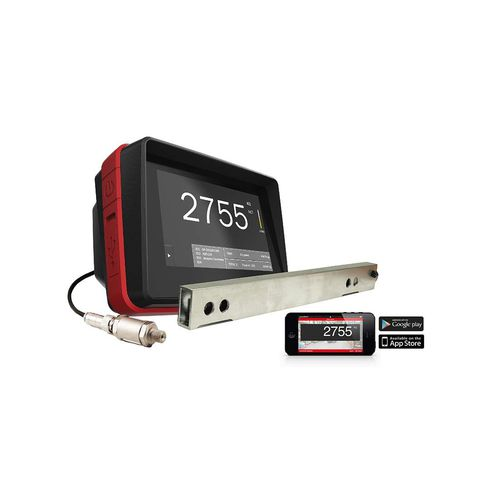 hydraulic scale / with LCD display / with touch screen