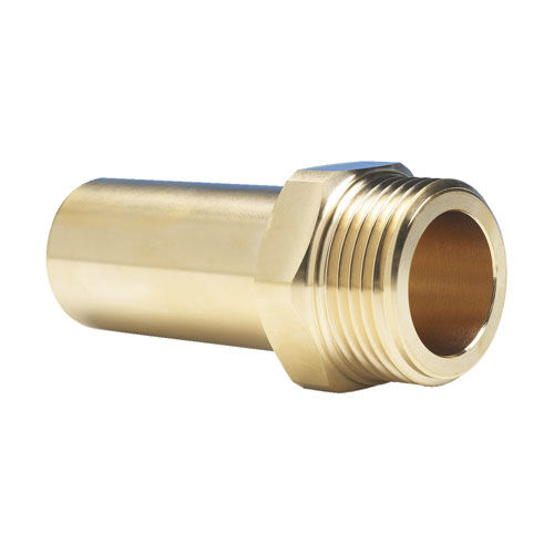 screw-in fitting / quick / straight / for compressed air