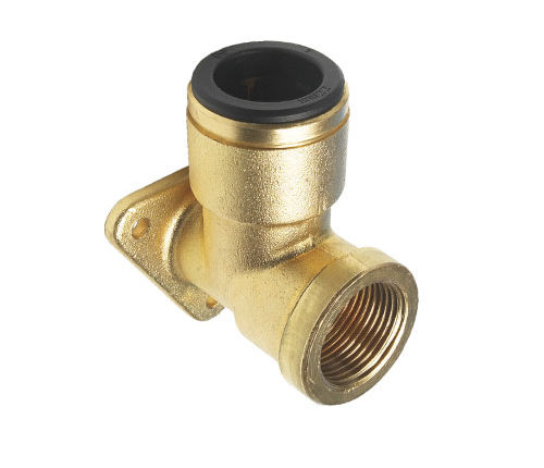 screw-in fitting / quick / elbow / for compressed air