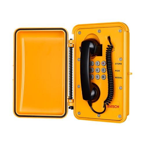 analog telephone / VoIP / PoE / IP66