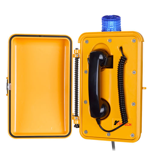 industrial telephone with indicator lights