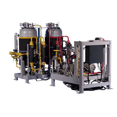 piston mixer-dispenser / multi-component / automatic / digital