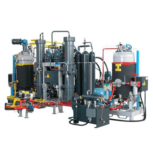 piston dosing unit / PU foam / high-precision / high-pressure