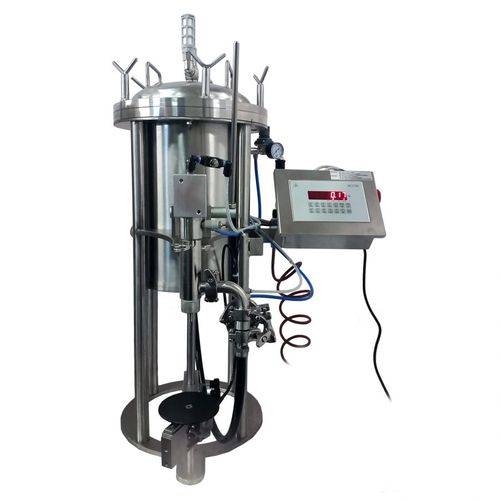 filling machine for the cosmetics industry