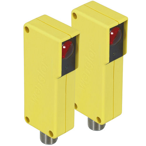 type 2 safety light barrier / single-beam / through-beam / IP67
