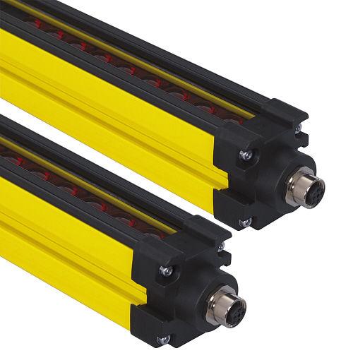 body protection light curtain / type 4 safety / multibeam / through-beam