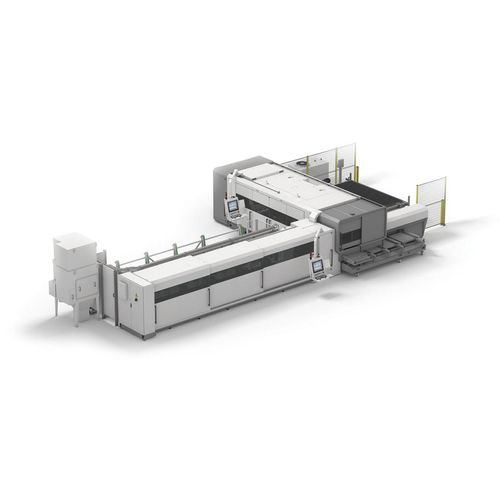 fiber laser cutting machine / for steel / for stainless steel / for aluminum
