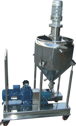 food product pump / electric / rotary lobe / industrial