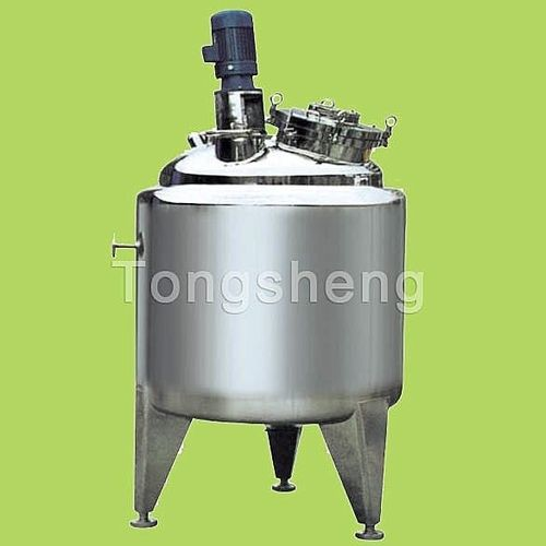 viscous product tank / stainless steel / vertical