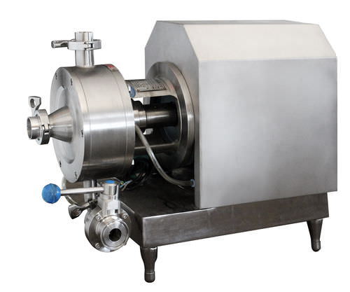 rotor-stator mixer / continuous / solid/liquid / high-speed