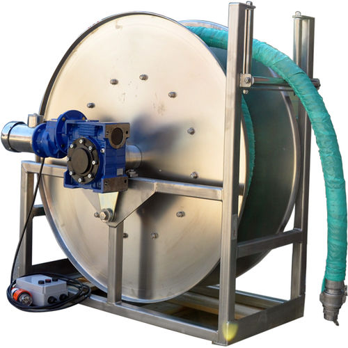 cleaning hose reel