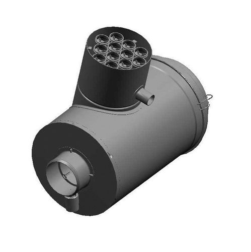 cartridge filter housing / for air