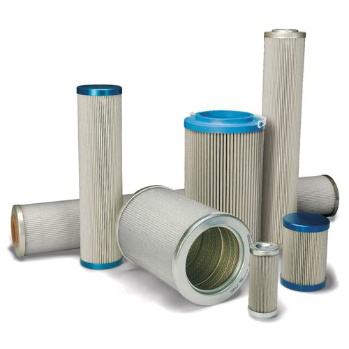 water filter cartridge / oil / fine / steel