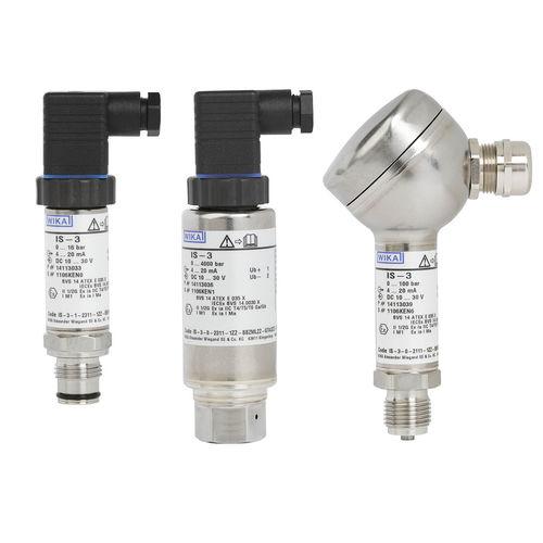 membrane pressure transmitter