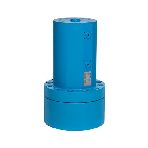 hydraulic valve actuator / 90° / double-acting / for high-torque applications