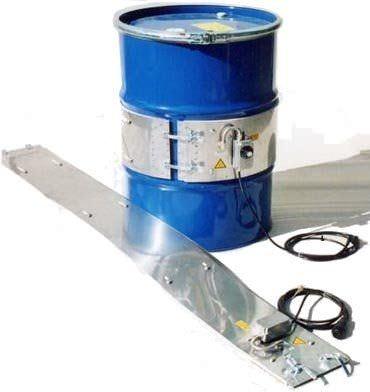 belt drum heater / for steel kegs