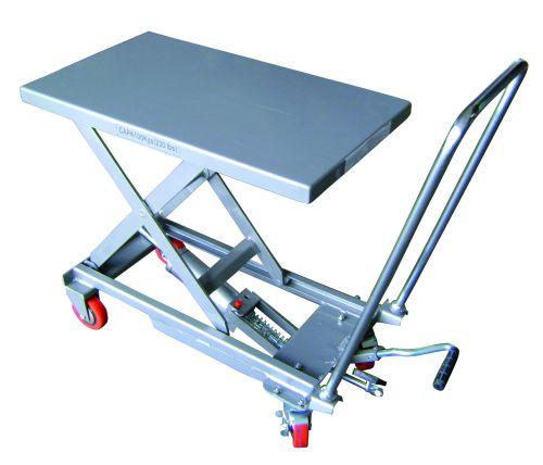 Scissor lift table / manual / mobile - 101xx series