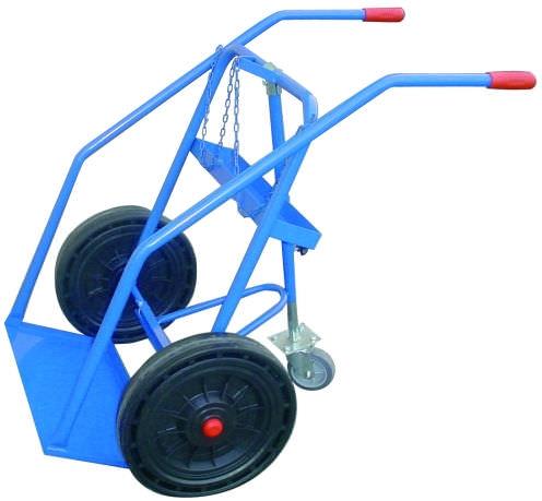 transport cart / steel / gas bottle