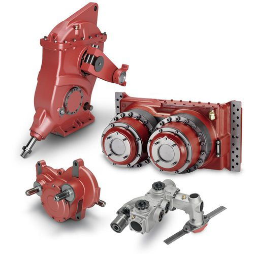 gear train gear reducer / parallel-shaft / 1 - 2 kNm / 2 - 5 kNm