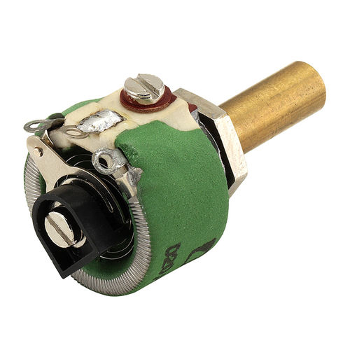 rotary potentiometer / motorized / wire-wound / cement-coated