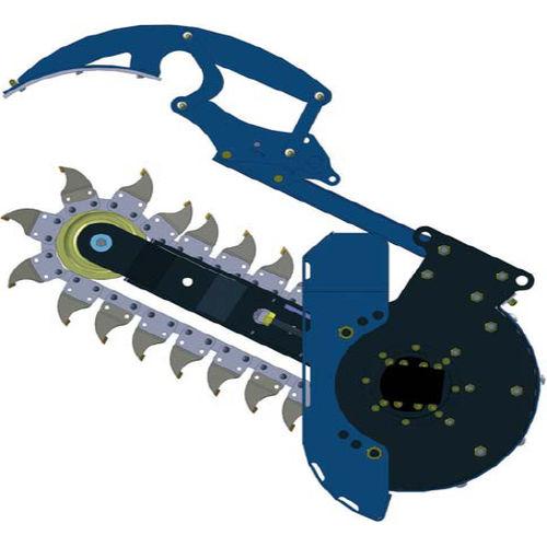 chain trencher