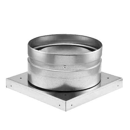 rooftop fan / centrifugal / ventilation / galvanized steel