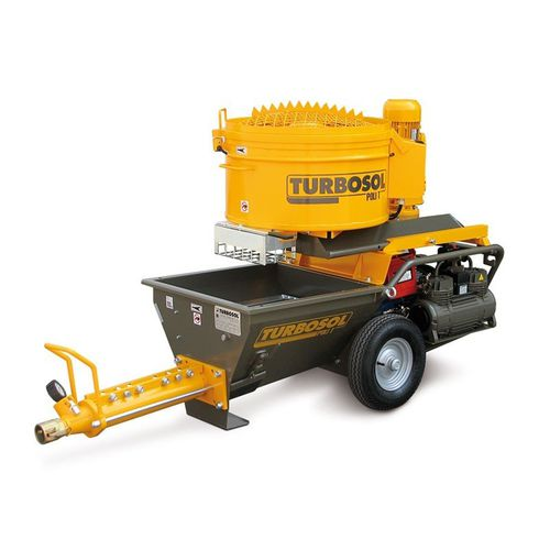 mortar spraying machine / plaster