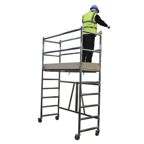 mobile scaffolding tower