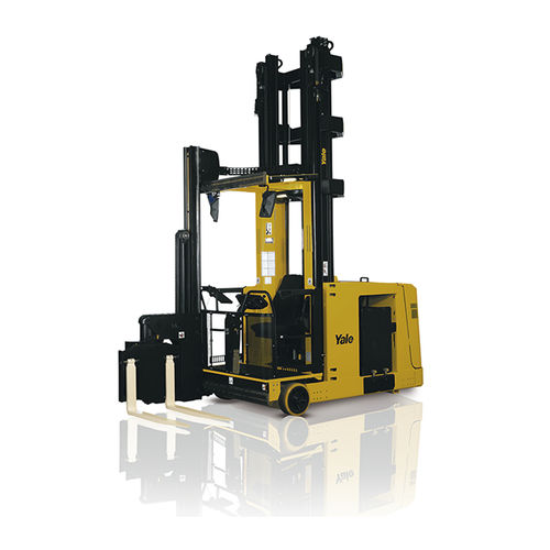 electric forklift / ride-on / VNA / for warehouses