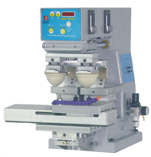 pad printing machine with open ink cup