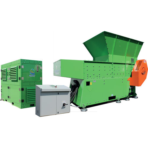 single-roller pre-crusher / vertical / for cables / for metals