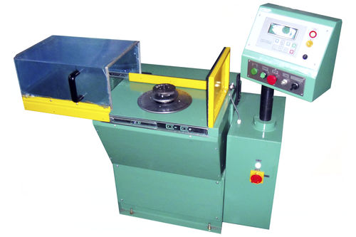 vertical balancing machine / dynamic / pulley / for cutting tools
