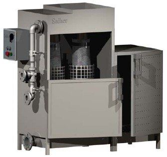 plate filtration unit / for water