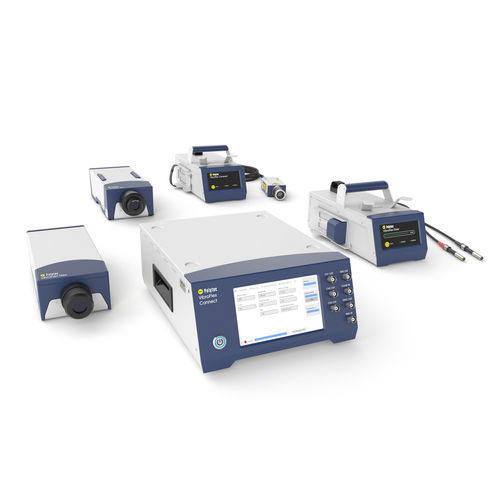 machine monitoring vibration meter / portable / digital / FFT