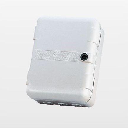 wall-mount enclosure / rectangular / plastic